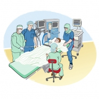 Operation av tonsiller