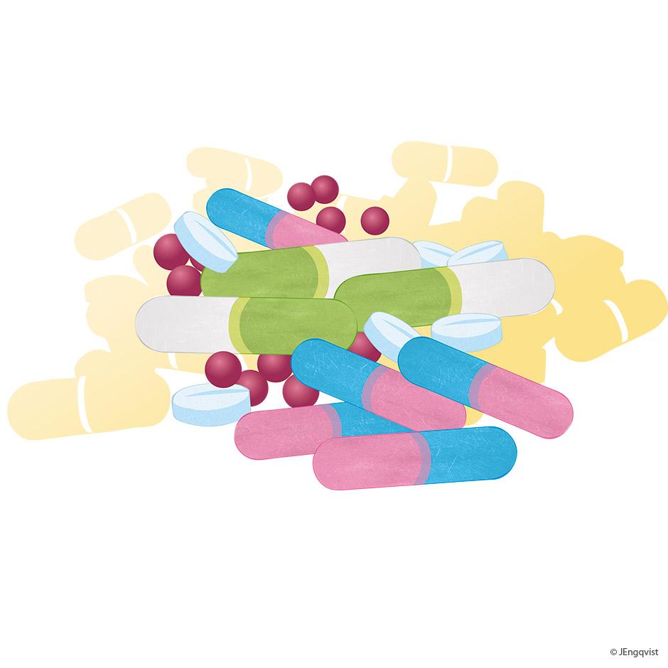 Psykofarmaka-piller